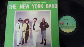 Lp Wilfrido Vargas Presenta The New York Band