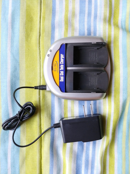 Carregador Duplo Baterias Sony Mini Dv Série P H V