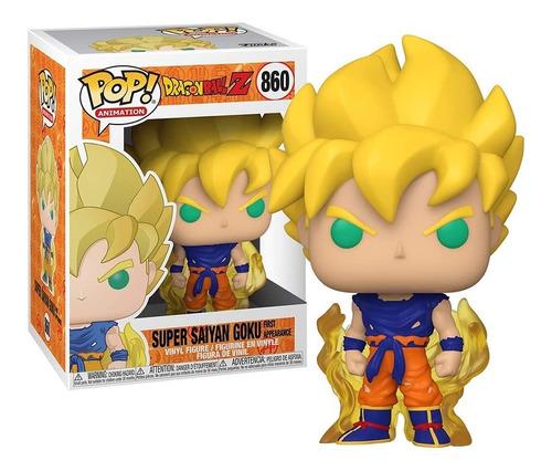 Imagem 1 de 5 de Boneco Funko Pop Super Saiyan Goku 860 Dragonball Z Original