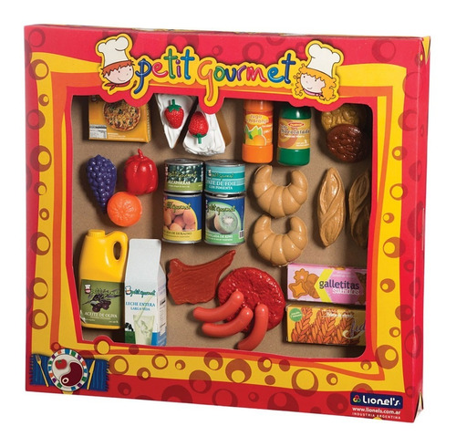 Set De Comiditas Petit Gourmet Art 130 Casa Valente