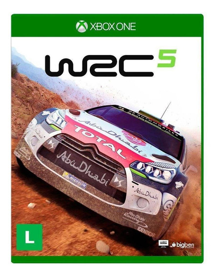 Wrc 5 Fia World Rally Championship Xbox One Mídia Física