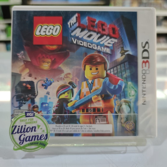 Lego Movie The Game Nintendo 3ds - Completo