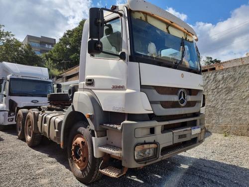Imagem 1 de 15 de Mercedes-benz Axor 34344 6x4 Ano 2016 Traçado P/ Caçamba