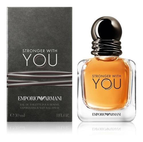 Imagen 1 de 1 de Stronger With You Edt 30ml Asimco / Prestige Parfums