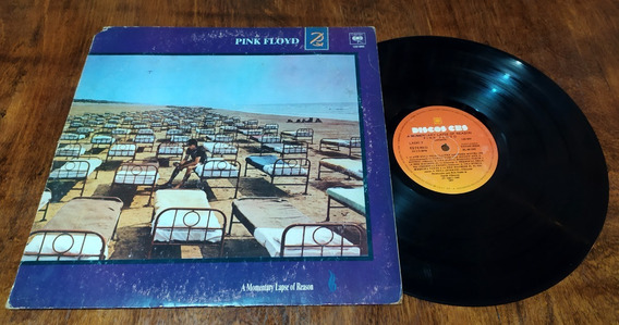 Pink Floyd A Momentary Lapse Of Reason Lp Vinilo Disco