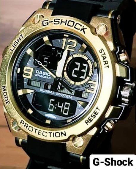 Relógio G-shock Dourado Com Resistência E Qualidade