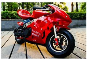 Mini Moto Pocket 49cc Bike Niño Meses Sin Intereses Juguete