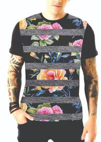 Camiseta Masculina Blusas Estampada Diversas Estampas