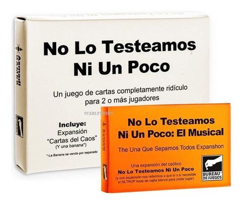 No Lo Testeamos Ni Un Poco + El Musical Previa Mesa Bureau