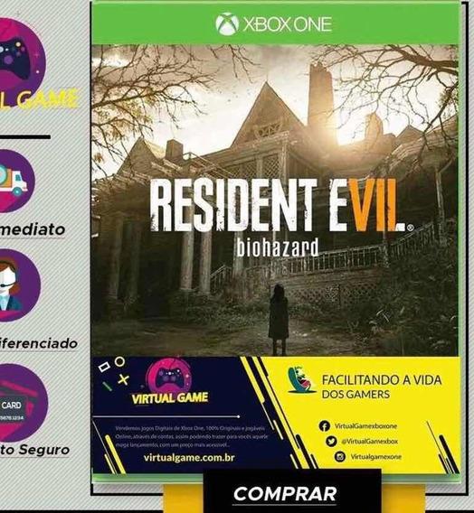 Resident Evil 7 - Jogo Xbox One - Midia Digital