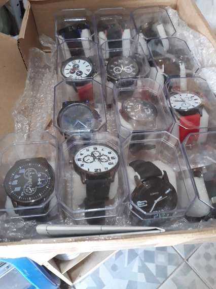 Kit Com 12 Relógios, Várias Cores E Modelos.15 Reais Cada