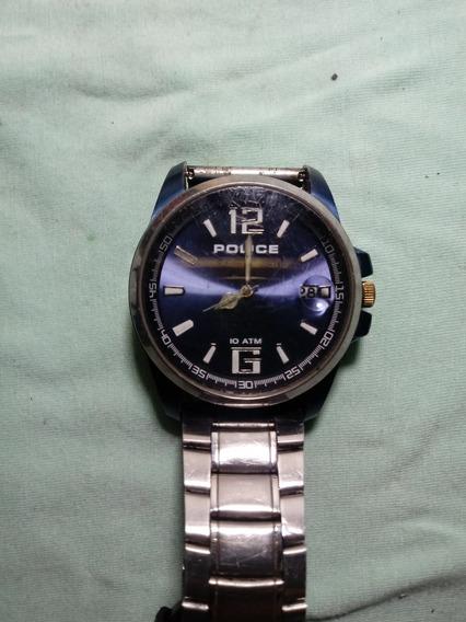 Relógio Antigo Police. Abateria Original