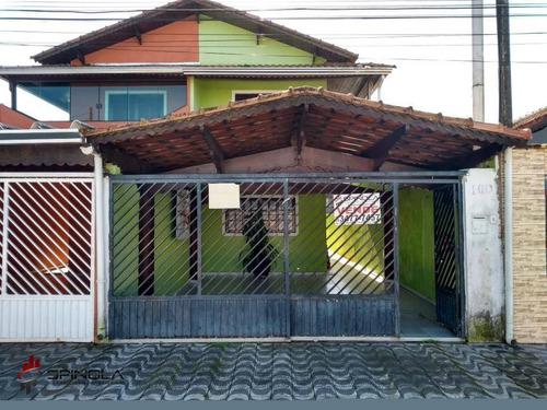 Imagem 1 de 27 de Sobrado Com 2 Dormitórios À Venda, 105 M² Por R$ 290.000,00 - Jardim Imperador Iv - Praia Grande/sp - So0038