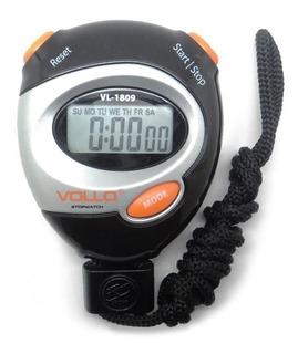 Cronometro Progressivo Digital C/ Alarme Vollo Vl1809