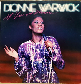 Lp Dionne Warwick - Hot Live And Otherwise - Arista - Albu