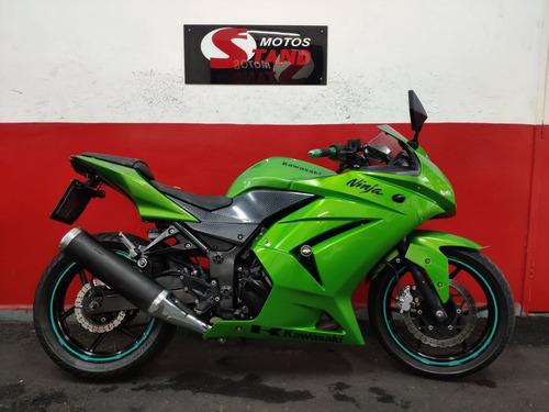Kawasaki Ninja 250 R 250r 2012 Verde