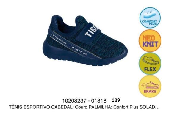 Tênis Infantil Tigor T Tigre Original Azul 10208237