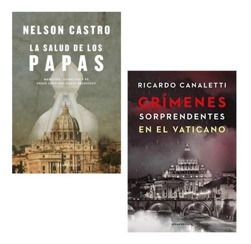 Pack Crímenes Sorprendentes Vaticano + Salud Los Papas