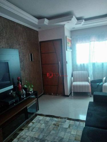 Imagem 1 de 18 de Sobrado À Venda, 136 M² Por R$ 540.000,00 - Vila Nhocune - São Paulo/sp - So0379