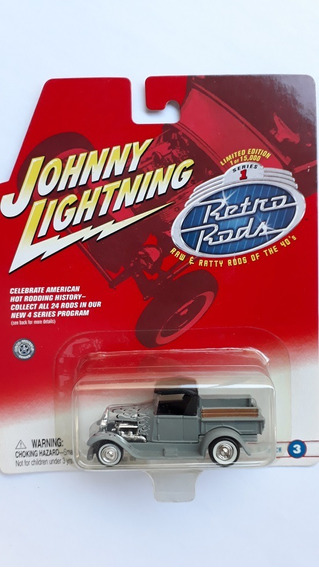 Johnny Lightning Retro Rods Ford Pick-up Model A 1929 N Hw