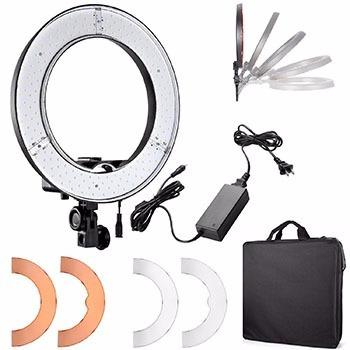 Ring Light Iluminador Leds Rl 12