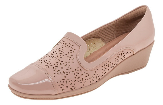 Sapato Feminino Anabela Rose Piccadilly - 144018