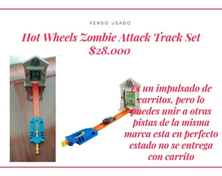 Hot Wheels Pista Usada Excelente Estado