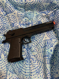 Pistola Airsoft Eagle Spring Polímero Com Bbs!