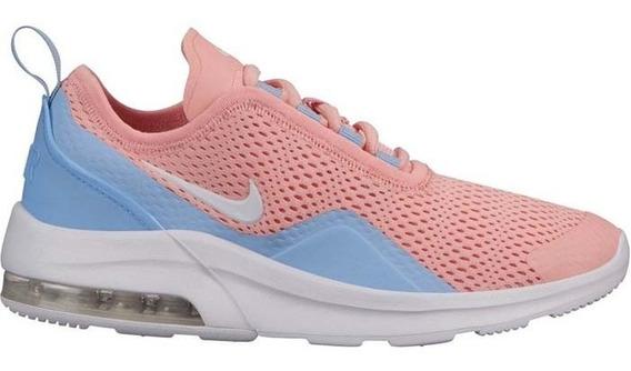 Tenis Nike Air Max Motion 2 Coral/azul/blanco - Aq2745 600