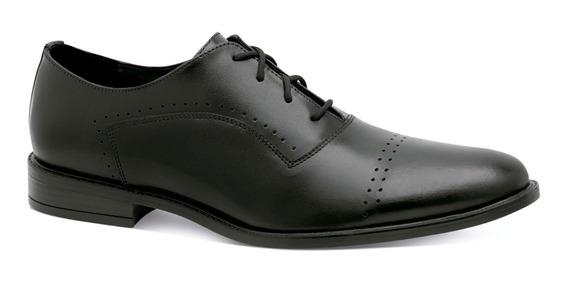 Christian Gallery Zapatos Piel Perforado Vestir Moda 7100281
