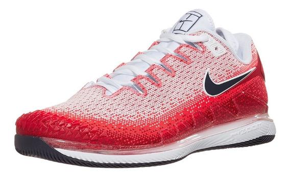 Zapatillas Nike Vapor Tour X Knite White/crimson 2020