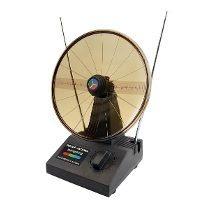 Kit Com 30 - Antena Int. Uhf-vhf-fm Mini Parabolica Ref 8049