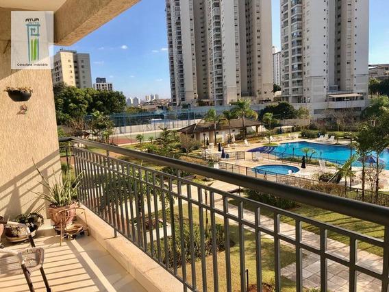 Apartamento Com 2 Dormitórios À Venda, 92 M² Por R$ 690.000 - Lauzane Paulista - São Paulo/sp - Ap0661