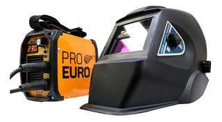 Solda Inversora 230a 220v Alumínio Tig + Máscara Automática