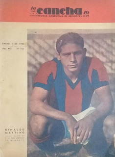 La Cancha 711. Reinaldo Martino San Lorenzo Año 1942