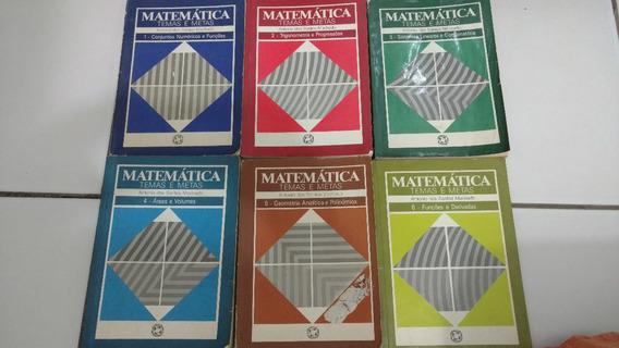 Colecao Completa Matematica Temas E Metas 6 Volumes
