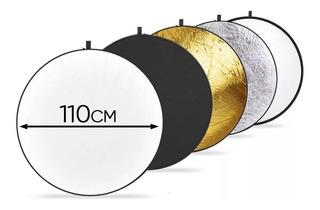 Reflector Flex 110cm 5 En 1 Deal Electronics Video Y Foto