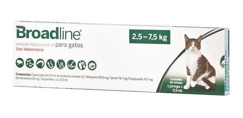 Broadline Solución Tópica Antipulgas Gato Grande Hasta 7.4kg