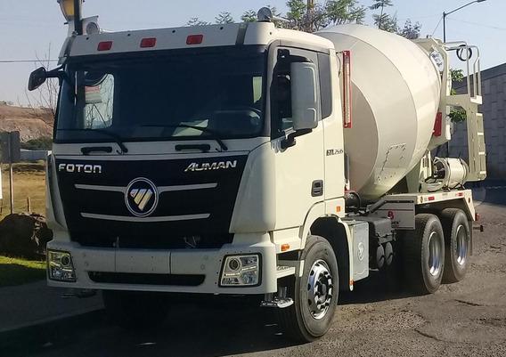 Camion Foton Auman Revolvedor De Concreto 8m3 2019