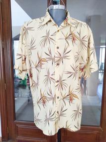 Fina Camisa Hawaiiana Talla L