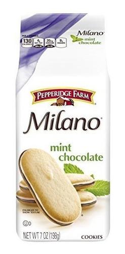 Pepperidge Farm, Milano, Galletas, Menta, 7.0 Oz, Bolsa, 3