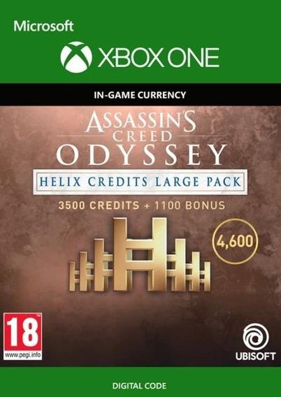 Assassins Odyssey Créditos Helix 3500 + Bônus - Patch Xbox One Código 25 Dígitos
