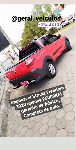 Fiat Strada 2020 1.4 Freedom Cab. Dupla Flex 3p