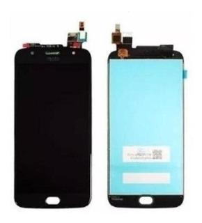 Display Tela Touch Lcd Motorola Moto G5s Plus Xt1802 Preto