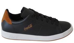 Tenis Masculino Coca-cola Cc1525 - Preto