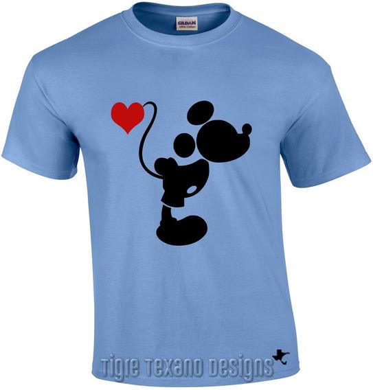 Playera Pareja (el) Mickey Mod. 02 By Tigre Texano Designs