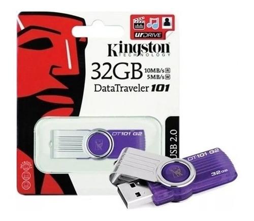 Pendrive Kingston 32gb Usb 2.0 101g2 100% Original