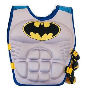 Chaleco Salvavidas Niño Héroes Spiderman Superman Batman M