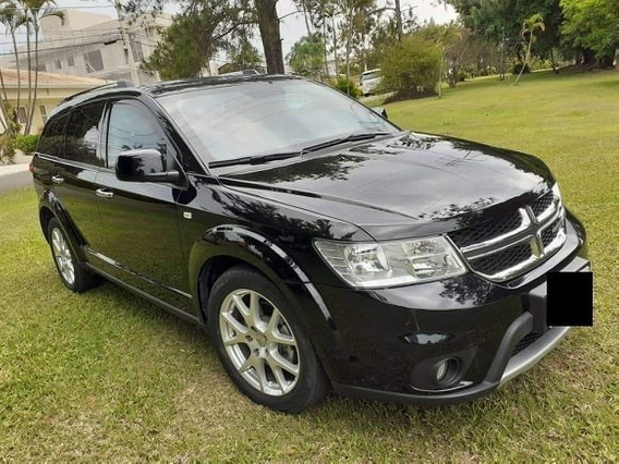 Dodge Journey 2017 R/t 3.6 V6 285hp 7 Lug -blindada-baixo Km