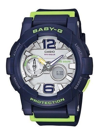 Relógio Baby-g Bga-180-2bdr (marinho)
